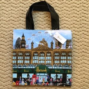 2019 Harrods Summer Time Small Shopper Bag